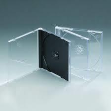 CD JEWEL CASE BLACK TRAY STANDARD NEO