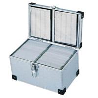 200 cd dvd storage flight case