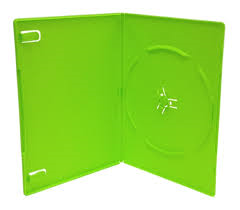 14mm DVD CASE GREEN