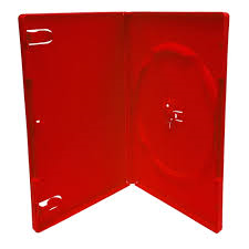14MM SINGLE RED DVD CASE