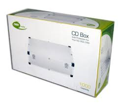 ALUMINIUM STORAGE DJ CASE NEO 1000 CD DVD