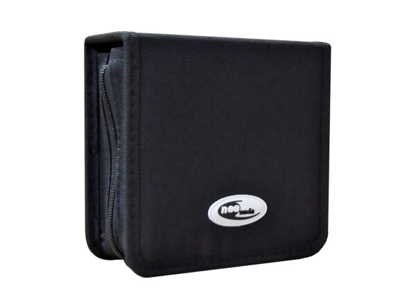 48 capacity neo nylon cd dvd carry case