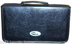 NEO LEATHER 96 CD DVD CARRY CASE
