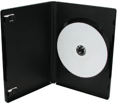 SINGLE DVD CASE 14mm CD BLACK