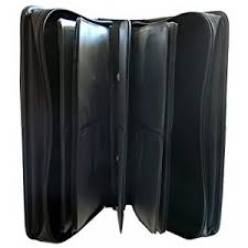 96 CD DVD LEATHER CARRY CASE