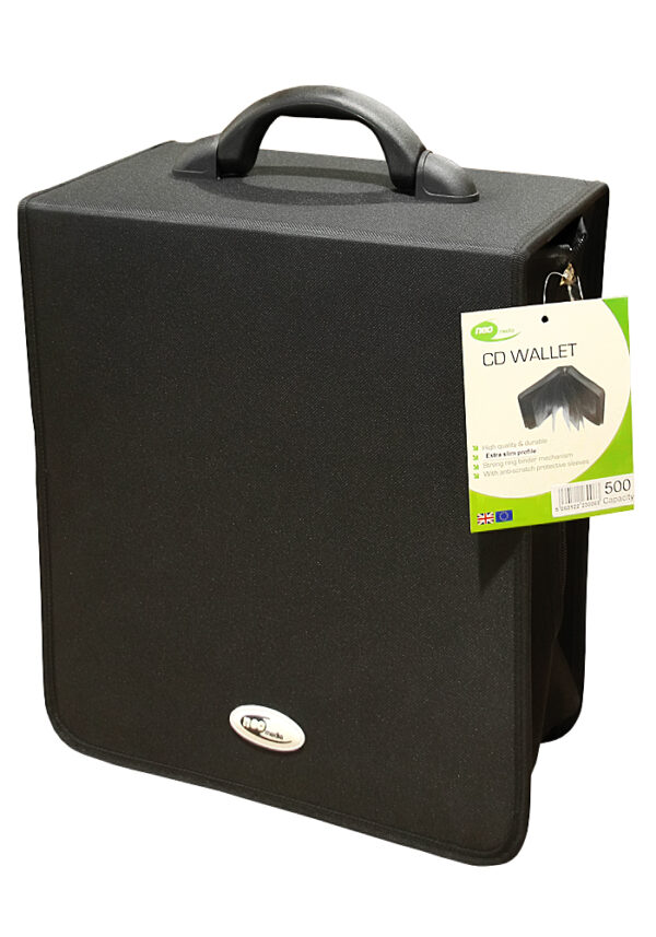Neo Nylon 500 cd dvd storage capacity case Matrix Media
