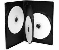 neo media 4 way dvd case black