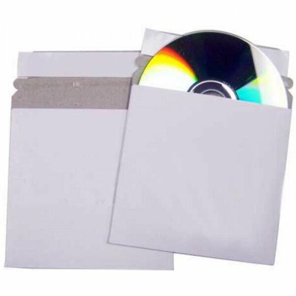 peel & seal card mailer cd dvd neo media