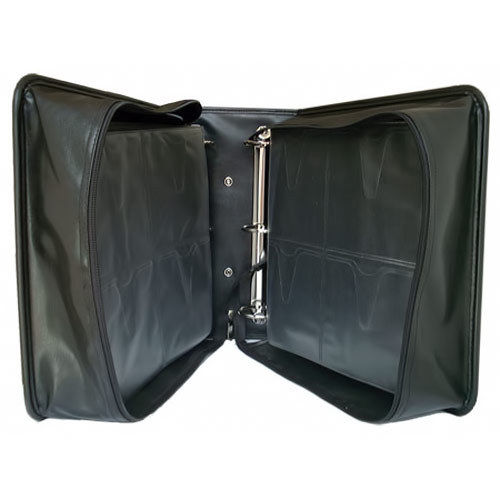 LEATHER 400 NEO MEDIA CD DDV CARRY CASE