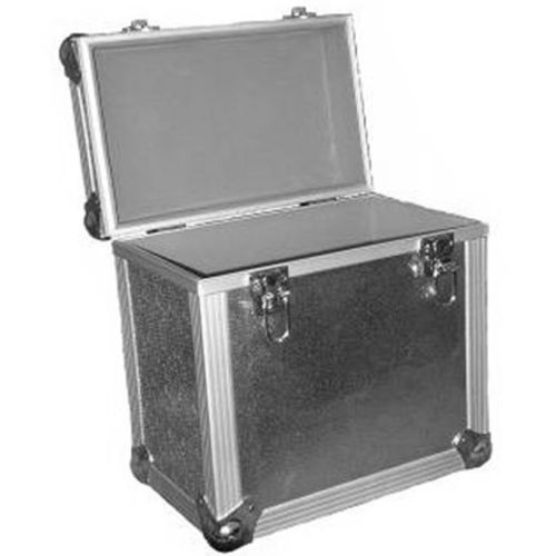 "NEO MEDIA LP 50 12"" SILVER STORAGE CASE FOR VINYL"