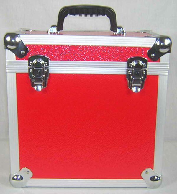 """NEO LP 50 12"""" RED VINYL STORAGE CASE BOX"""