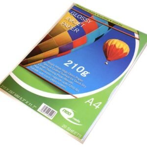 a4 glossy 210gsm