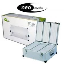 Neo Media Aluminium CD DVD Box 630 Discs DJ CASE