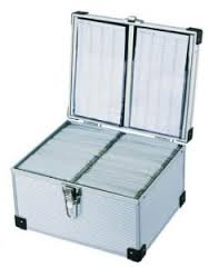 300 CD DVD ALUMINIUM FLIGHT DJ CASE NEO MEDIA