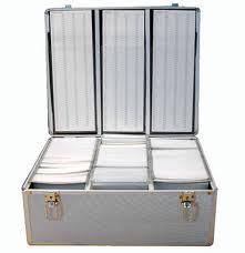 NEO MEDIA Aluminium CD/DVD Box 420 Discs