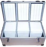 Neo Media 800 cd dvd aluminium storage case
