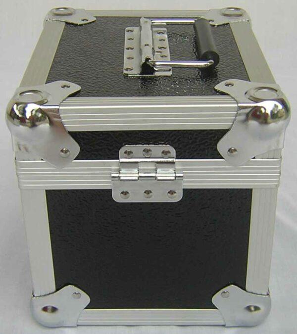 """100 7"""" lp aluminium box"""