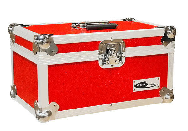 """NEO 200 7"""" 45S RED STORAGE CASE"""