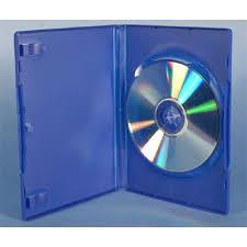BLUE 14MM DVD CASE
