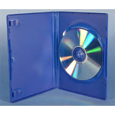 BLUE 14MM DVD CASE
