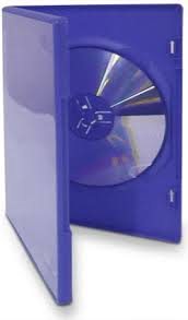 SINGLE BLUE DVD CASE GAMES