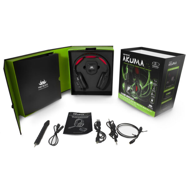 wireless gaming headset neo akuma