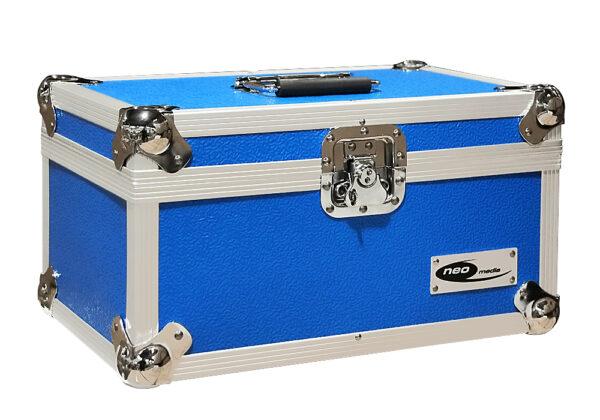 "200 45S 7"" VINYLY SOTRAGE CASE BLUE NEO MEDIA"