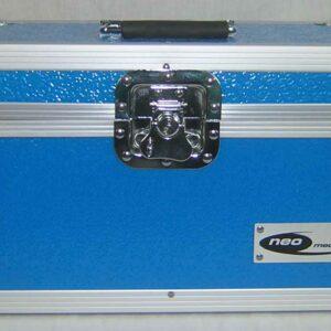 """7"""" SINGLE 200 capacity lp storage vinyl record aluminium"""