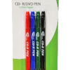 neo 4 pack twin tipped cd dvd pens marker