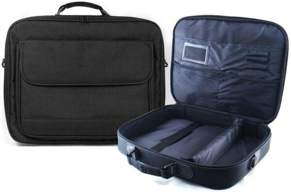 """neo 17"""" 19"""" laptop bag with shoulder strap"""