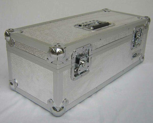 "300 CAPACITY 7"" SINGLES STORAGE BOX ALUMINIUM FLIGHT CASE"