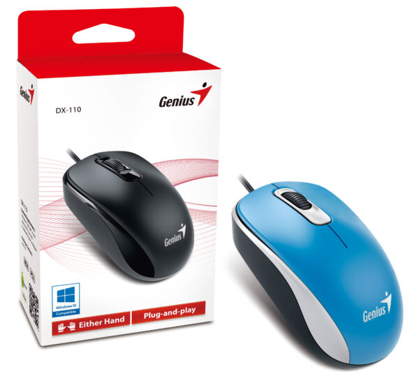 USB MOUSE BLUE BARGAIN PRICE