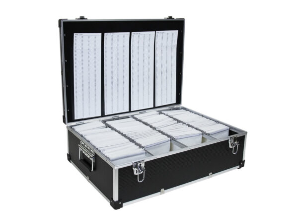 1000 CD DVD STORAGE ALUMINIUM NEO MEDIA