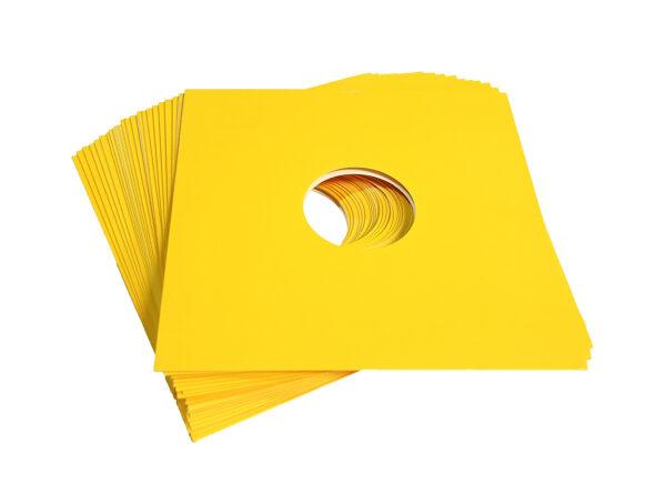 "neo 12"" VINYL lp card protection sleeve vinyl yellow"