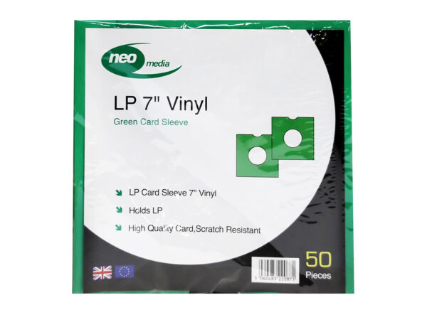 "NEO 7"" GREEN SINGLE VINYL CARD SLEEVE"