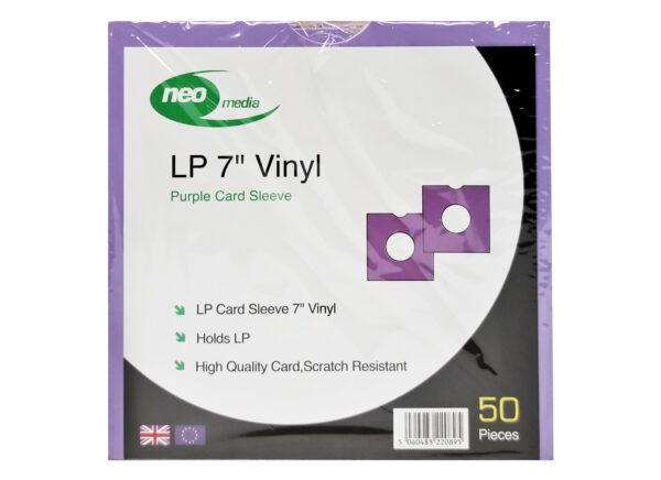 """NEO 7"""" PURPLE SINGLE VINYL CARD SLEEVE"""