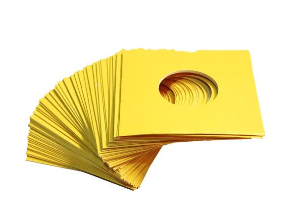 "NEO 7"" YELLOW SINGLE VINYL CARD SLEEVE"