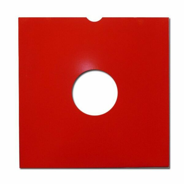 "neo 12"" VINYL lp card protection sleeve vinyl Red"