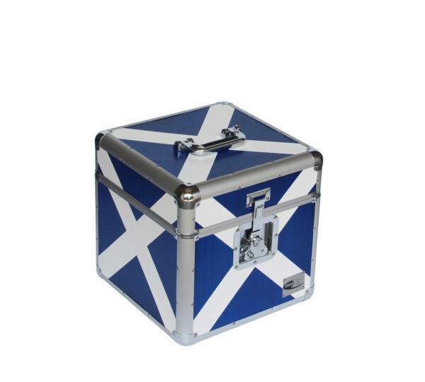 """Scotland Flag LP 100 12"""" STORAGE CASE"""