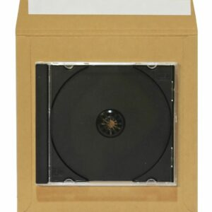 neo brown 7 inch card mailer