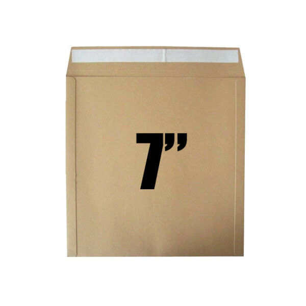 "7"" single card mailer peel & seal 50 pack"