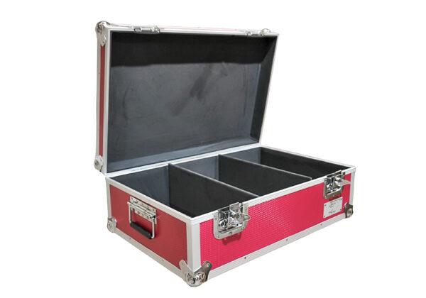 """neo pink 500 7"""" singles 45s storage case"""