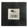 """7"""" black paper sleeve with hole"""