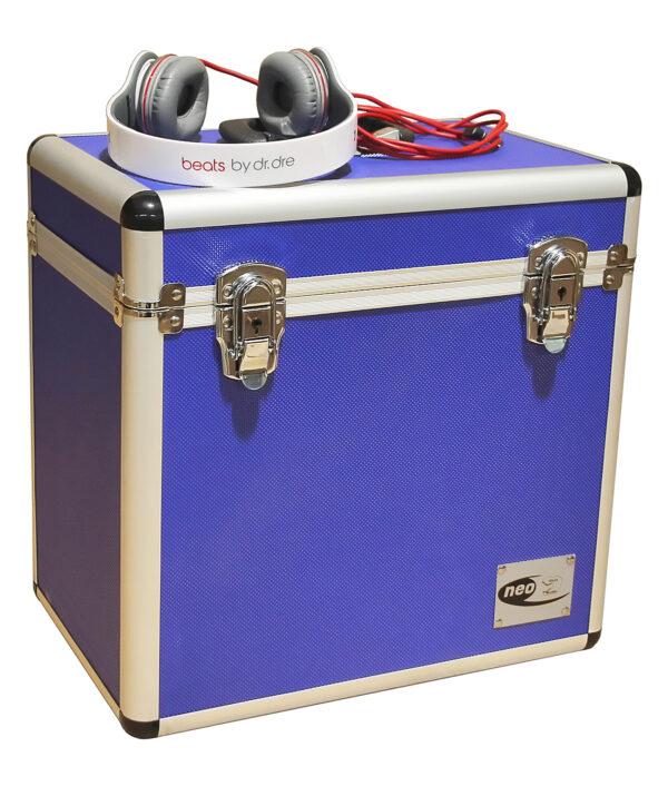 blue lp case