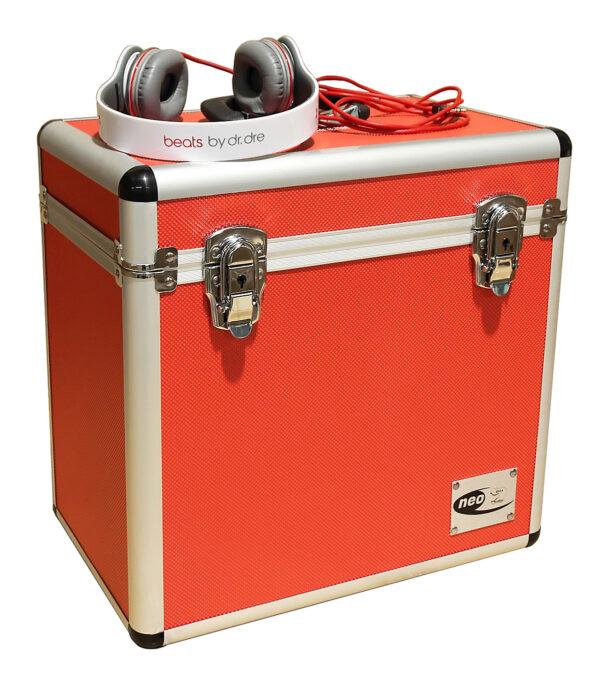 red 50 capacity neo case lp