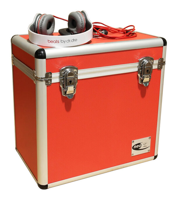 red 50 capacity neo case lp