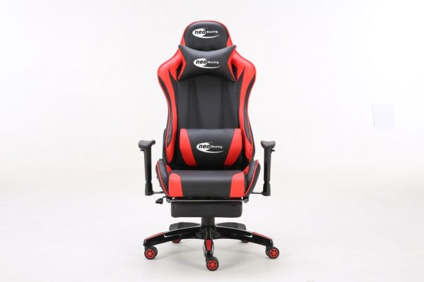 red gaming chair
