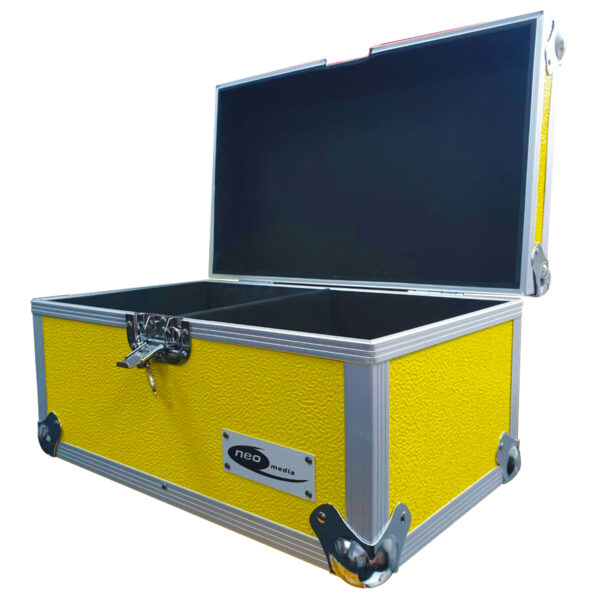 "200 CAPACITY STORAGE CASE FOR 7"" SINGLES"
