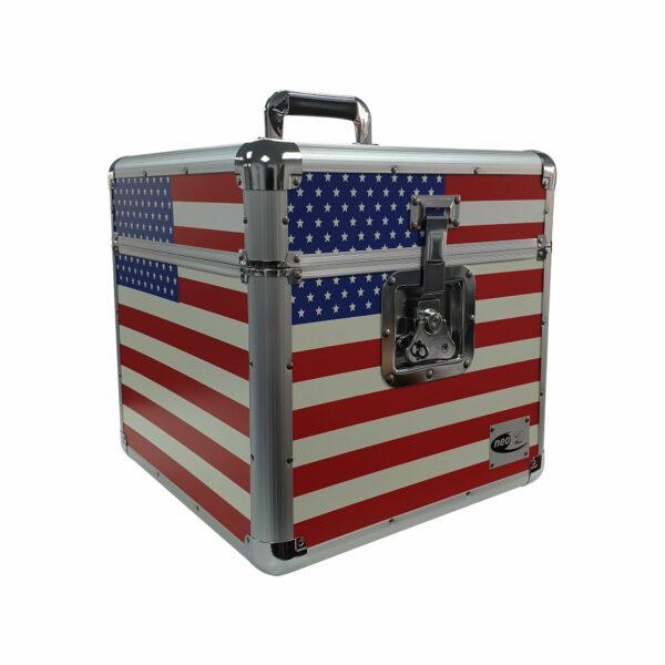 American flag lp storage case