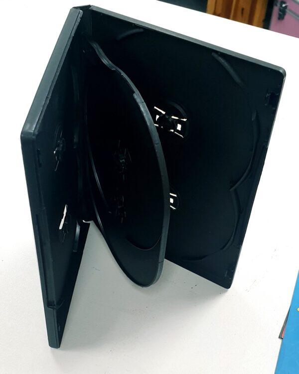 6 way dvd case 14mm